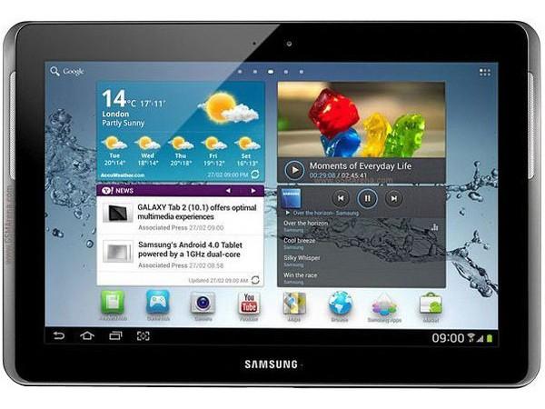 Купить -  Samsung Galaxy Tab 2 10.1 16GB P5100 titanium silver