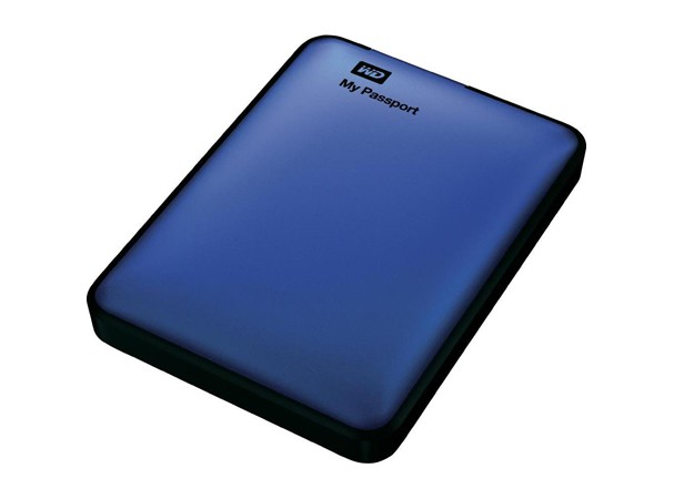Купить -  WD 2.5 USB 3.0 1TB 5400rpm My Passport Metallic Blue (WDBBEP0010BBL-EESN)
