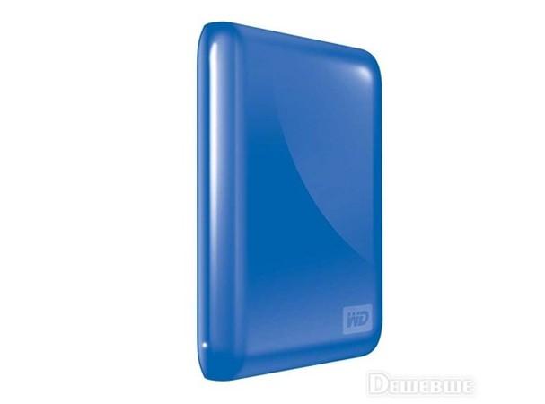 Купить -  WD 2.5 USB 3.0/ 2.0 500GB 5400rpm MyPassport Essential 3.0 Light Blue