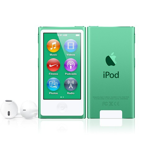 Купить -  Apple iPod nano 7Gen 16Gb Green (MD478)