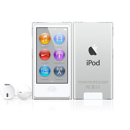 Купить -  Apple iPod nano 7Gen 16Gb Silver (MD480)