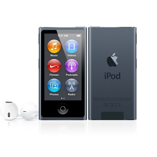 Купить -  Apple iPod nano 16Gb Space Gray (MKN52QB/A)