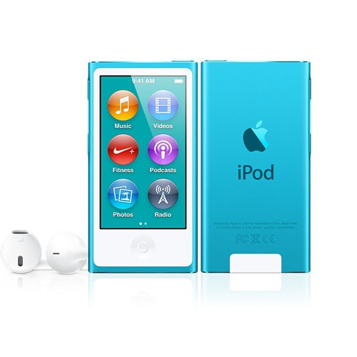 Купить -  Apple iPod nano 7Gen 16Gb Blue (MD477)