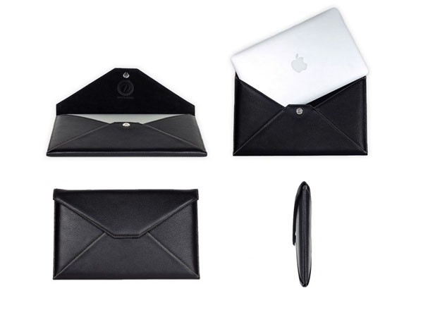 Купить -  	Dublon Leatherworks Ultra Slim Case Black for Macbook Air 13'
