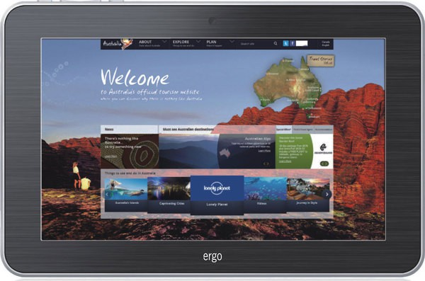 Купить -   Ergo Tab Mars 8 GB White