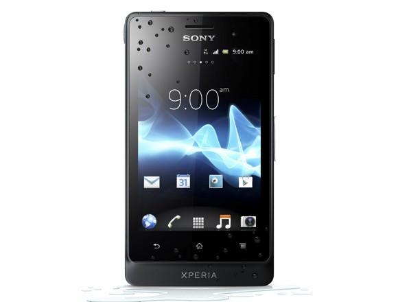 Купить -   Sony Xperia go ST27i Black (1264-6470)