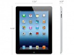 Фото -  	Apple iPad 3 Wi-Fi 16Gb black (MC705)