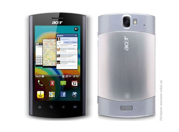 Купить -  Acer Liquid MT S120 Silver (XP.H52EN.020)