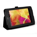 Фото -  EXACT Leather Folio Case for Google Nexus 7 Black