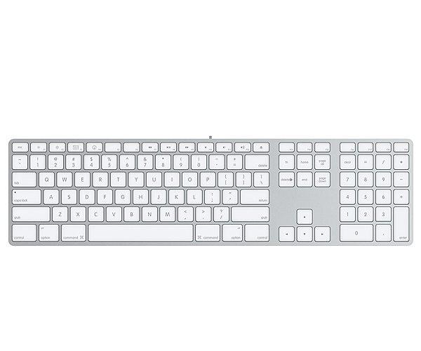 Купить -  Клавиатура Apple Keyboard (aluminium) (MB110RS/B)