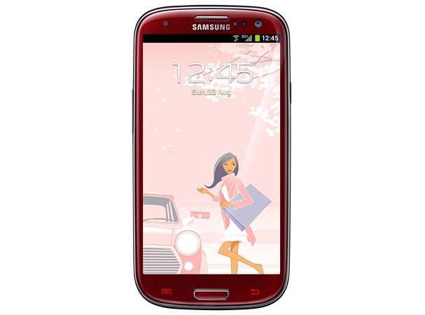 Купить -  Samsung I9300 Galaxy SIII (Garnet Red La Fleur) 16GB