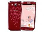 Фото  Samsung I9300 Galaxy SIII (Garnet Red La Fleur) 16GB
