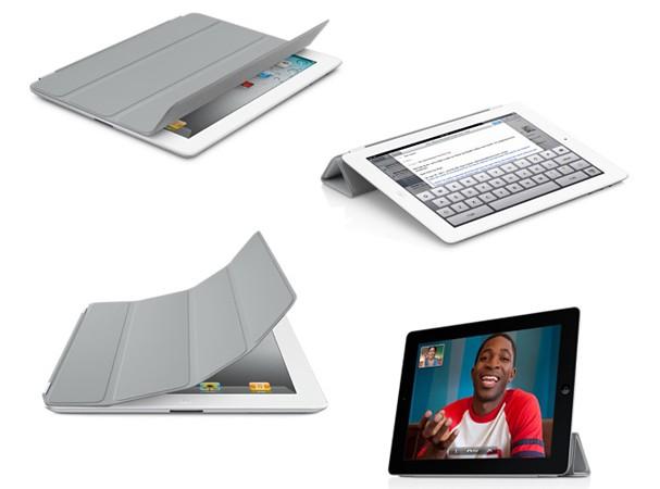 Купить -  iPad2 Smart Cover Полиуретан Серый