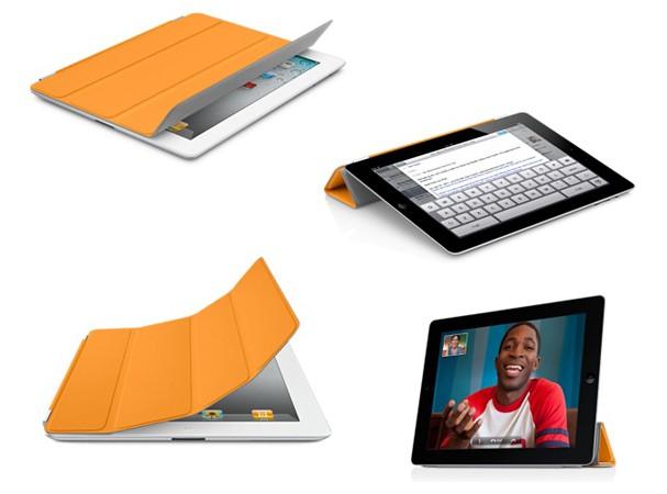 Купить -  iPad2 Smart Cover Полиуретан Оранжевый