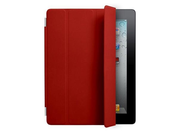 Купить -  iPad2 Smart Cover Кожа Красный