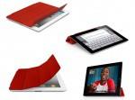 Фото  iPad2 Smart Cover Кожа Красный