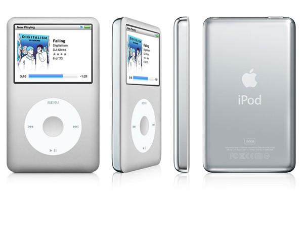 Купить -  iPod classic 160GB silver (MC293)