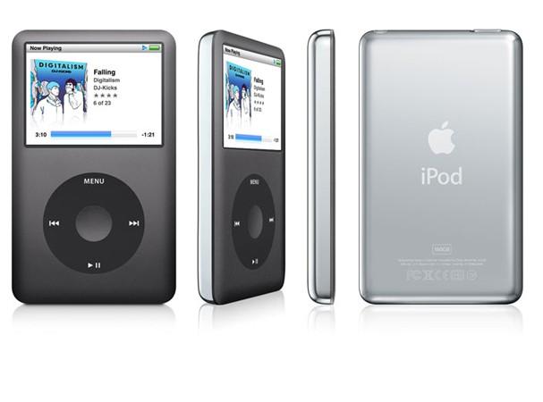 Купить -  iPod classic 160GB black (MC297)