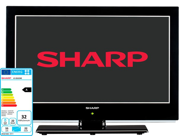 Купить -   Sharp LED 22' LC22LE240EXV (LC22LE240EXV)