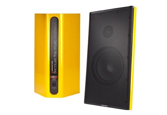 Купить -  Monster Clarity HD Monitor Speakers  (Yellow) MNS-132733-00  + Адаптер в подарок