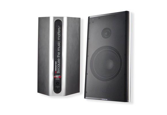 Купить -  Monster Clarity HD Monitor Speakers  (Silver) MNS-129221-00 + Адаптер в подарок