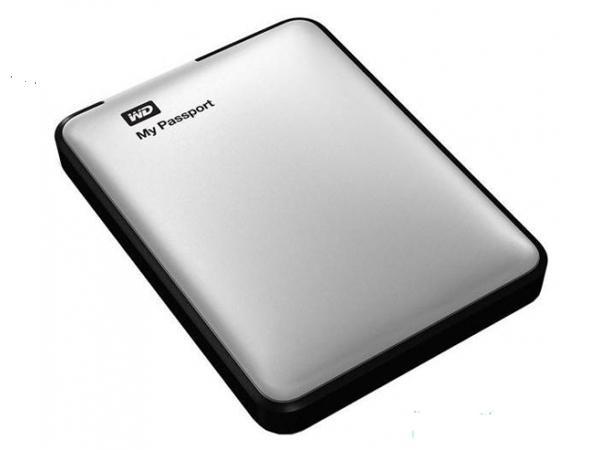 Купить -  WD 2.5 USB 3.0 2TB 5400rpm My Passport Silver (WDBY8L0020BSL-EESN)
