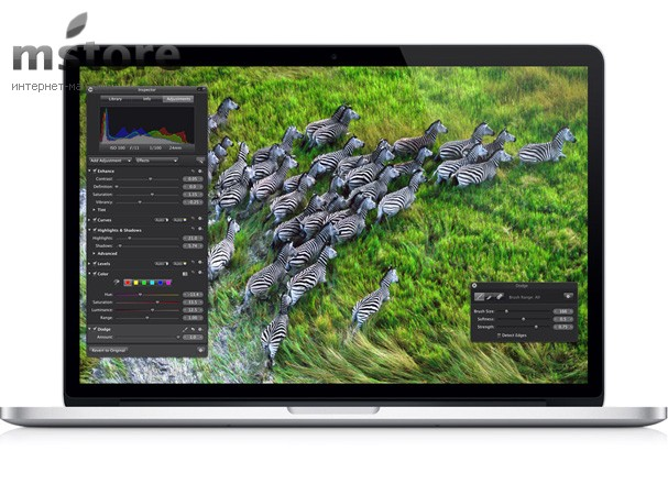 Купить -  Apple  MacBook Pro 15W' Retina Quad-corei7 2.7GHz  (Z0ML00003)