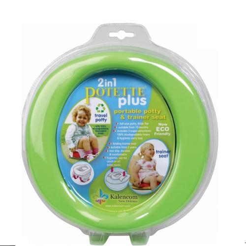 Купить -  Дорожный горшок Potette Plus (green)