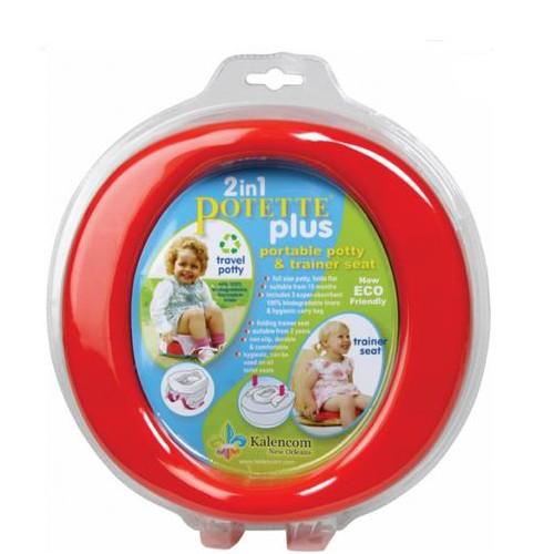 Купить -  Дорожный горшок Potette Plus (red)