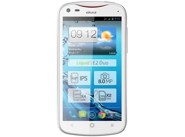 Купить -  Acer V370 Liquid E2 Duo (White)