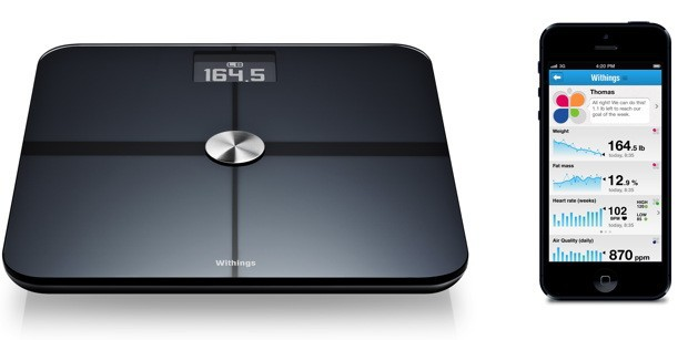 Купить -  Withings The Smart Body Scale Black (WBS01)