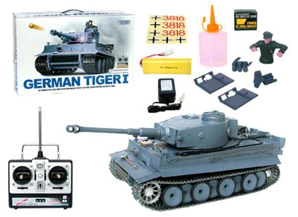 Купить -  Танк на р/у Heng Long German Tiger 1:16 (3818-1)