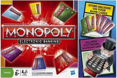 Купить -  Игра Монополия с банковскими карточками Hasbro (37712)