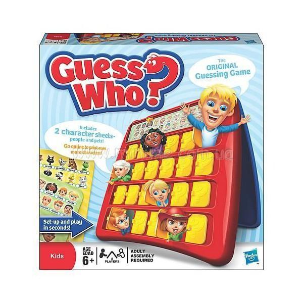 Купить -  Настольная игра Угадай кто Hasbro (05801)