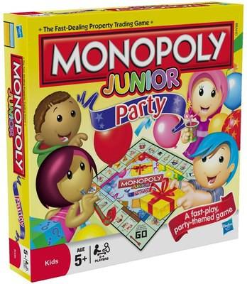 Купить -  Игра Монополия для детей Вечеринка Hasbro (36887)