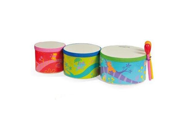 Купить -  Африканський барабан 'Бонго' (3шт.) (5024)