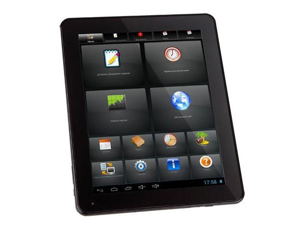 Купить -  Senkatel ZnayPad 9.7' IPS/Cortex A9 DC 1.5GHz/1GB/8GB/WiFi/BT/2xCam/Android 4.1 (T9702)