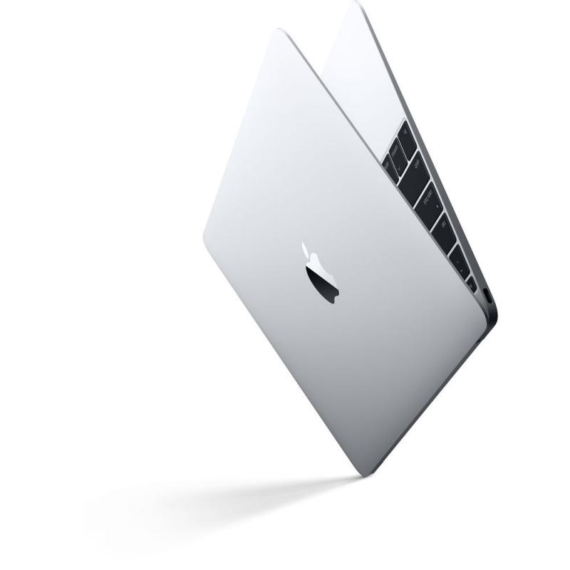 Купить - Apple Apple 12-inch MacBook: 1.2GHz dual-core Intel Core m3, 256GB - Silver (MNYH2UA/A)