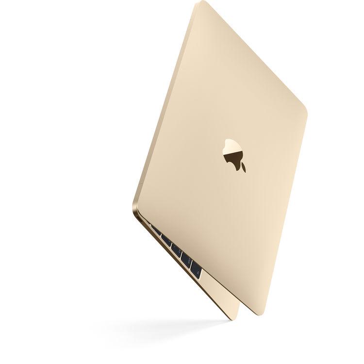 Купить - Apple Apple 12-inch MacBook: 1.2GHz dual-core Intel Core m3, 256GB - Gold (MNYK2UA/A)