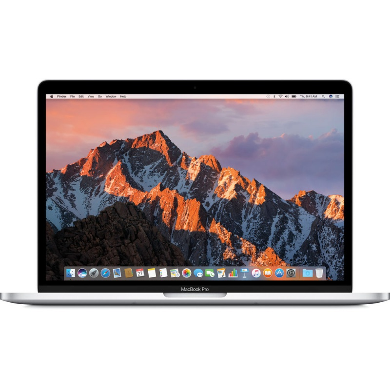 Купить - Apple Apple 13-inch MacBook Pro: 2.3GHz dual-core i5, 256GB - Silver (MPXU2UA/A)