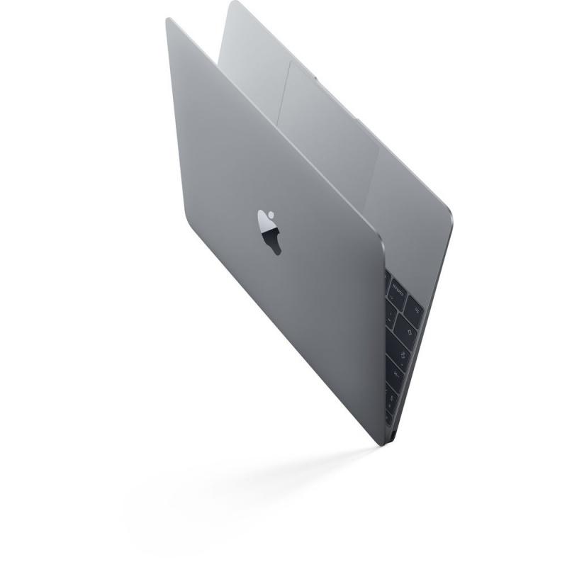 Купить - Apple Ноутбук Apple A1534 MacBook 12' Retina Core i7 DC 1.4GHz/16GB/512Gb SSD/Intel HD 615/Space Gray (Z0TY0003K)