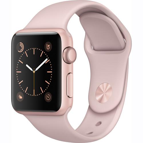 Купить - Apple Apple Watch Series 1, 38mm Rose Gold Aluminium Model A1802