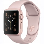 Фото - Apple Apple Watch Series 1, 42mm Rose Gold Aluminium Case with Pink Sand Sport Band (MQ112)