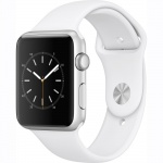 Фото - Apple Apple Watch Series 1, 42mm Silver Aluminium Case with White Sport Band (MNNL2)