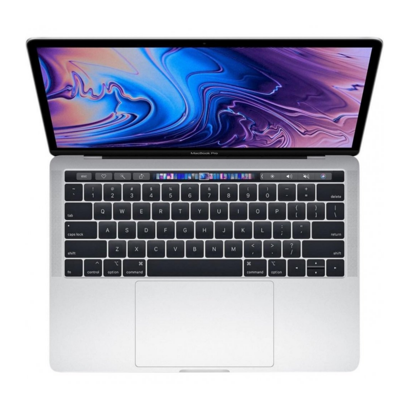 Купить - Apple Apple MacBook Pro 13' Retina Intel Corei7 2.7GHz 2TB TouchBar Silver (MR9U14)  2018