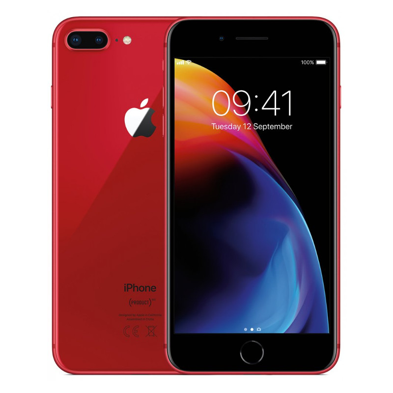 Купить - Apple iPhone 8 Plus 256Gb Red (MRT82)