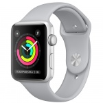 Фото - Apple Apple Watch Series 3 (GPS) 38mm Silver Aluminum Case with Fog Sport Band (MQKU2)