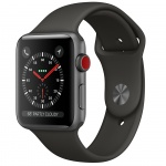 Фото - Apple Apple Watch Series 3 (GPS) 42mm Space Gray Aluminum Case with Gray Sport Band (MR362)