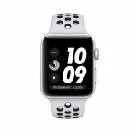 Фото Apple Apple Watch Series 3 Nike+ (GPS) 42mm Silver Aluminum Case with Pure Platinum/Black Nike Sport Band (MQL32)