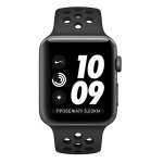 Фото Apple Apple Watch Series 3 Nike+ (GPS) 38mm Space Gray Aluminum Case with Anthracite/Black Nike Sport Band (MQKY2)